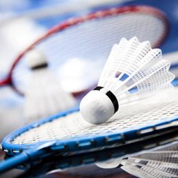 Postzegels      van het thema Badminton  '