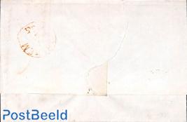 Folding letter from Nijkerk to Arnhem