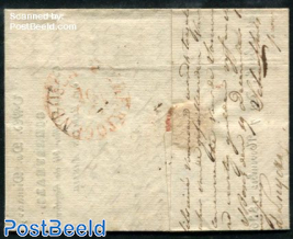 Folding letter from s-Hertogenbosch to s-Hertogenbosch