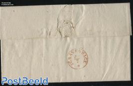 Folding cover from Heerenveen to s Gravenhage