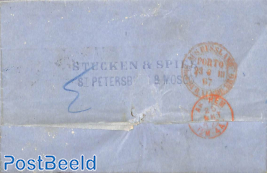 Letter from St. Petersburg to Arnhem (NL)