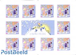Welfare, Frau Holle foil booklet s-a