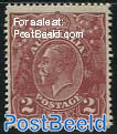 2p, Perf. 14, Stamp out of set