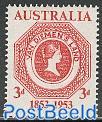 Tasmania stamp centenary 1v