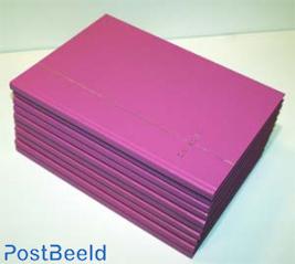 10 x Insteekboek 8 bladen Pretty Pink