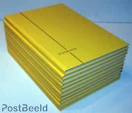 10 x Insteekboek 8 bladen Yelling Yellow