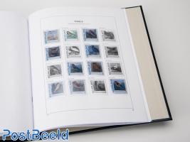 Luxe bladen Nederland Pers. Postzegels Vogels 2012
