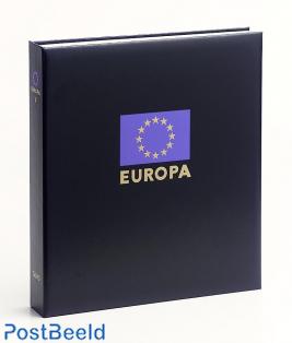 Luxe band postzegelalbum Europa XI
