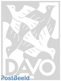 DAVO Alba stroken Nederland maat 25 x 36