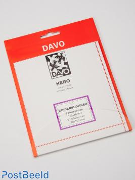 Nero stroken N01 (voor kinderblokken) 10 stuks