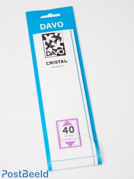 Cristal stroken C40 (215 x 44) 18 stuks