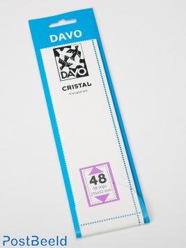 Cristal stroken C48 (215 x 52) 18 stuks