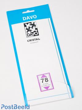 Cristal stroken C78 (215 x 82) 10 stuks