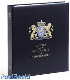 Luxe coin album Kon.Willem I + II