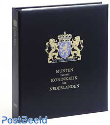 Luxe muntalbum Kon. Willem Alexander (zw/w)