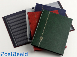 Stockbook Nero E Red
