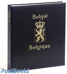 Luxe band postzegelalbum Belgie Velletjes I