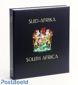 Luxe band postzegelalbum Zuid Afrika Unie