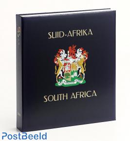 Luxe band postzegelalbum Zuid Afrika Rep. IV