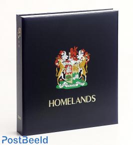 Luxe band postzegelalbum Z. Afrika Thuisland. (Zonder Nummer)