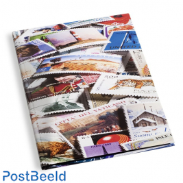 Leuchtturm Stamp Stockbook 32 Black Pages (A4) - Motif