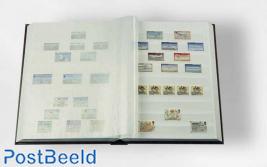 Leuchtturm Basic Insteekboek 64 Witte Bladen (A4) Blauw