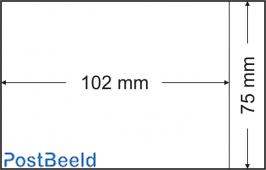 500 glassine bags 75x102mm
