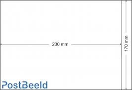 500 pergamijn zakjes 170x230mm