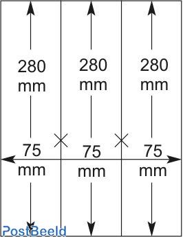 Lindner T-Blanco Blad 1X (802121)