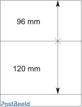 Lindner T-Blanco Blad 1X (802211)