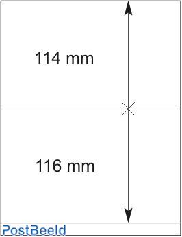 Lindner T-Blanco Blad 1X (802212)