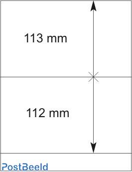 Lindner T-Blanco Blad 1X (802216)