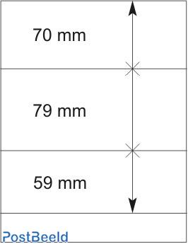 Lindner T-Blanco Blad 1X (802301)