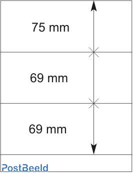 Lindner T-Blanco Blad 1X (802303)