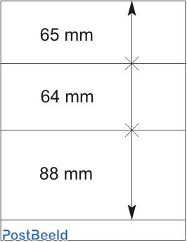 Lindner T-Blanco Blad 1X (802304)