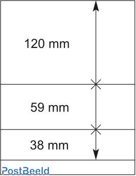 Lindner T-Blanco Blad 1X (802306)
