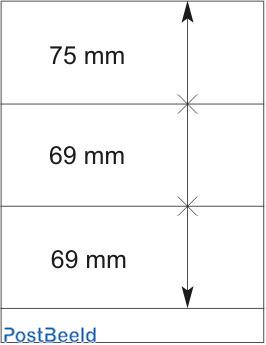 Lindner T-Blanco Blad 1X (802307)