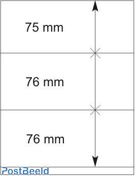 Lindner T-Blanco Blad 1X (802310)