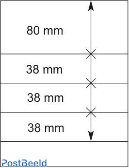 Lindner T-Blanco Blad 1X (802405)