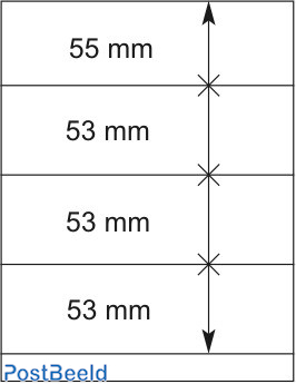 Lindner T-Blanco Blad 1X (802408)