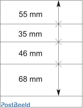 Lindner T-Blanco Blad 1X (802409)