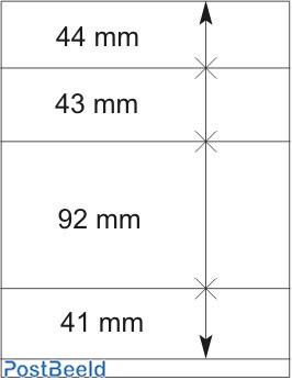 Lindner T-Blanco Blad 1X (802415)