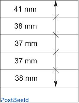 Lindner T-Blanco Blad 1X (802501)