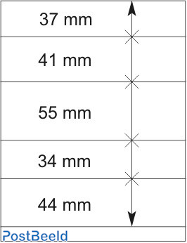 Lindner T-Blanco Blad 1X (802510)