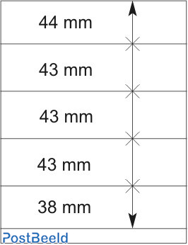 Lindner T-Blanco Blad 1X (802512)