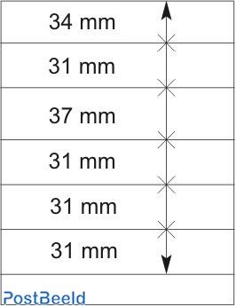 Lindner T-Blanco Blad 1X (802601)