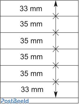 Lindner T-Blanco Blad 1X (802606)