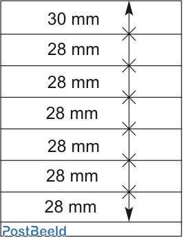 Lindner T-Blanco Blad 1X (802700)