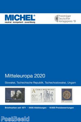 Michel catalogue E2, Hungary, Czech rep., Slovakia, Czechoslovakia, 2020 edition