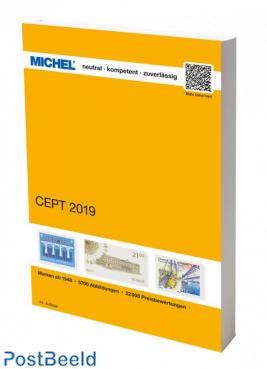 Michel Europa CEPT Catalogue 2019